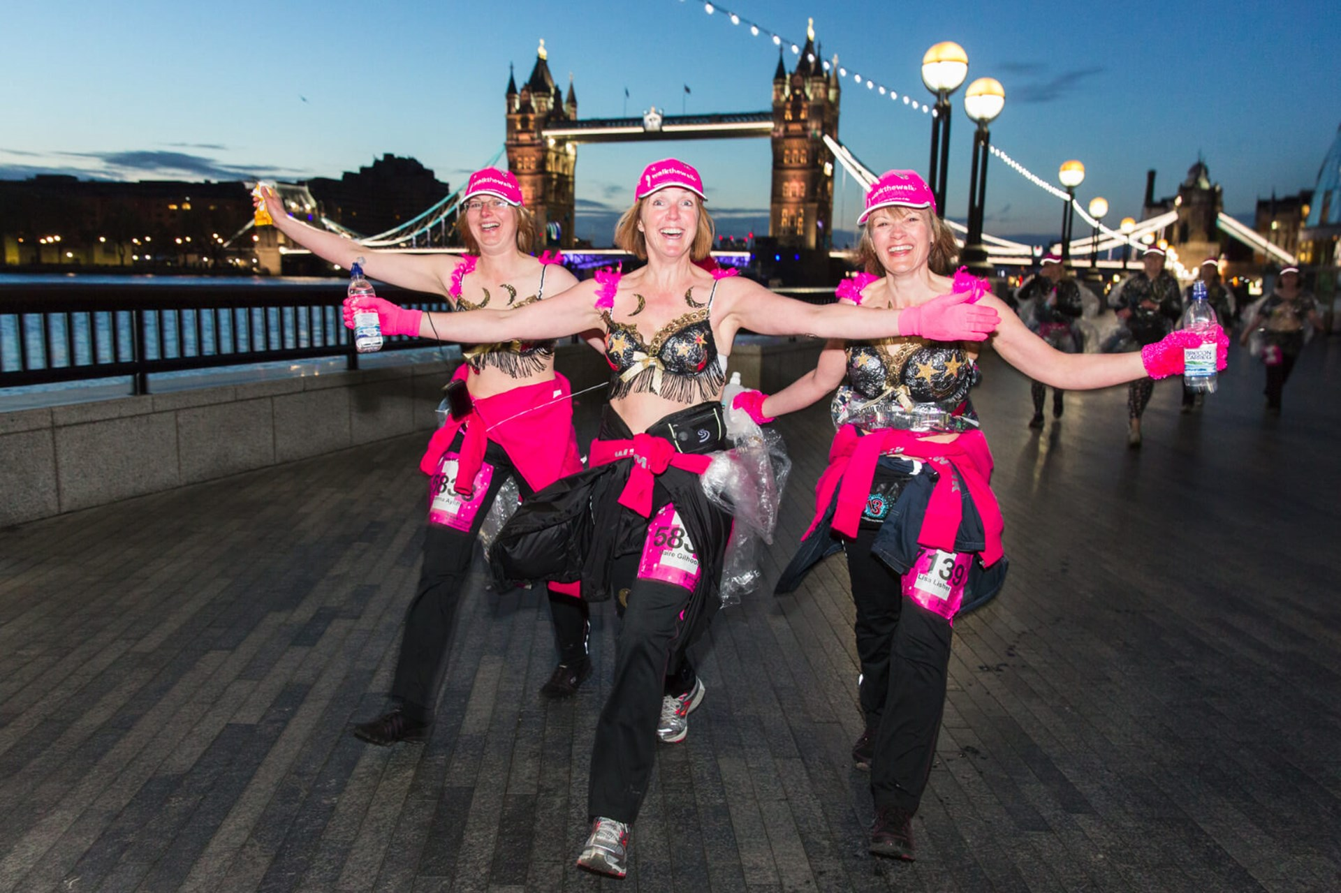 The Moonwalk London 2018 Charity Walk For Breast Cancer Causes