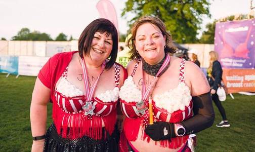 Walk The Walk Decorating A Bra For Your Charity Challenge Join Us