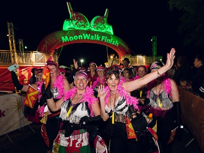 The MoonWalk London grabbing the headlines