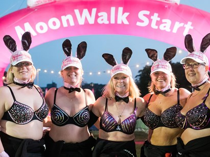 The MoonWalk stars across Scotland!