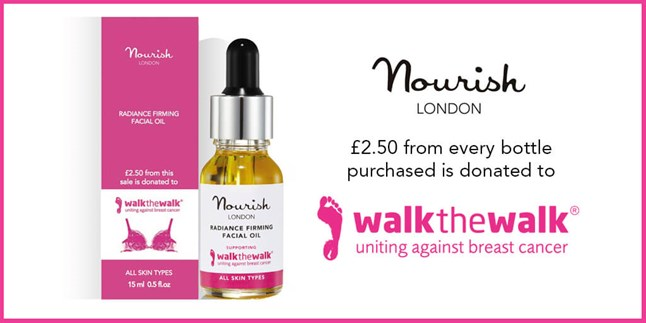 Walk the Walk - Nourish London Support Breast Cancer Charity