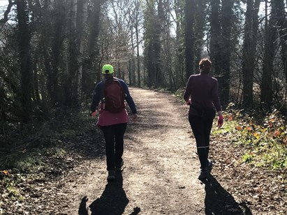 Jane takes on the Walk1000 miles challenge