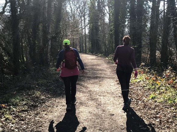 Jane takes on the Walk1000 miles challenge with Walk the Walk